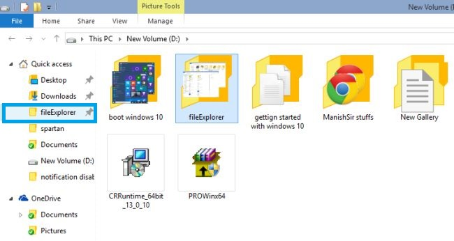 steps how to open file from one drive