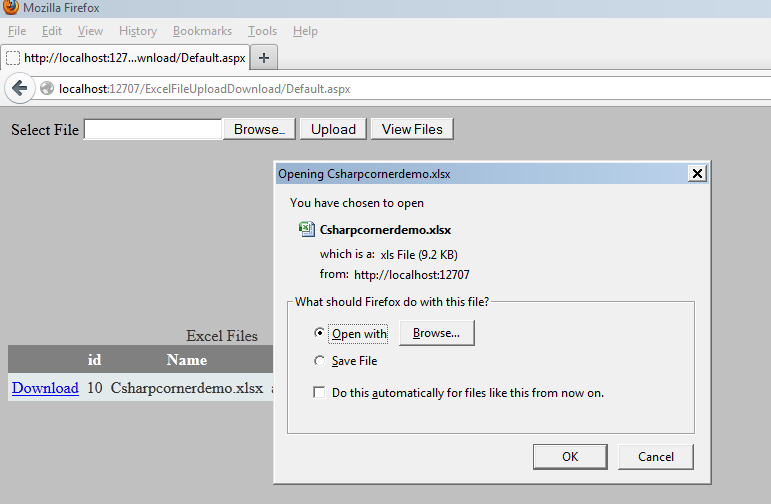 how to download files from uploaded net
