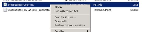 how to run sh file on powershell