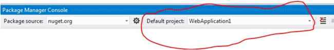 default project