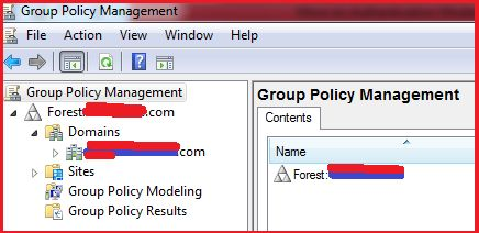 Group Policy Management Window