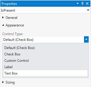 Select Textbox from Control Type