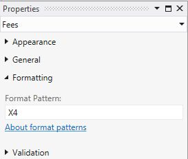X4 pattern Properties