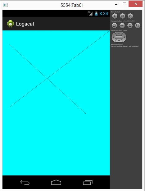 Drawing Lines Using Canvas : Learn how to draw line using canvas in android