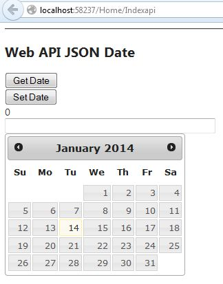 ... to render data from Json to date of fullcalendar jquery, as well as