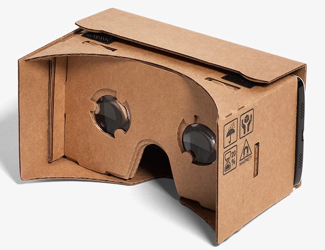 Google cardboard virtual reality for cheap for Cardboard for projects