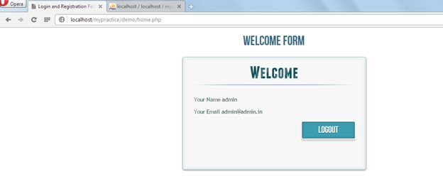 how to create a login page using php