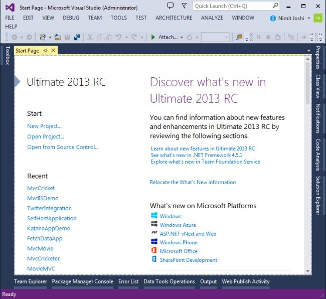 StartPage-in-VS2013RC.jpg