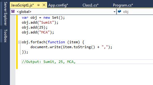 set-object-in-VisualStudio-2013.jpg