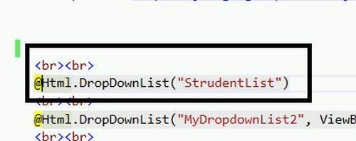 how to pass dropdown value from view to controller
