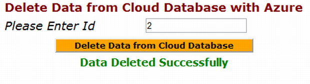 how to delete table from database