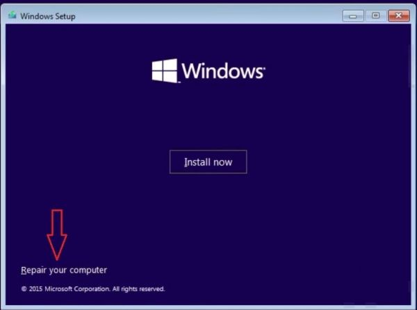 how to reset computer keep files windows 10