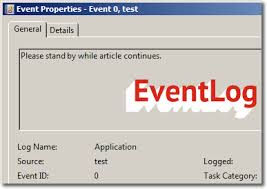 How to write custom eventlog in c