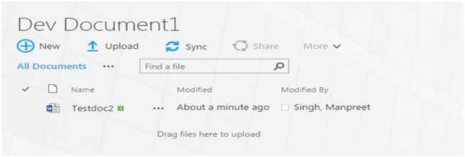 how to create document library in office 365