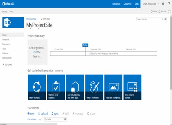 Site templates part 3 project site in sharepoint 2013 and for Sharepoint 2007 site templates