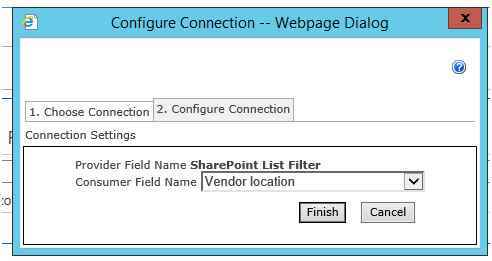 Configure connection tab