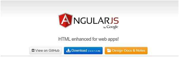 download AngularJS library