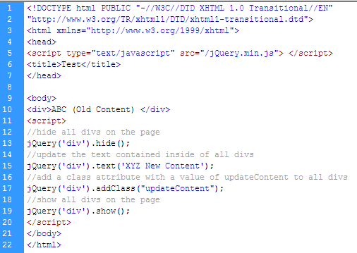 Jquery write less do more day 1 - Jquery hide div ...