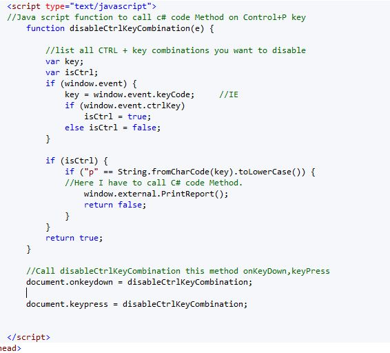 How to write asp code in html page