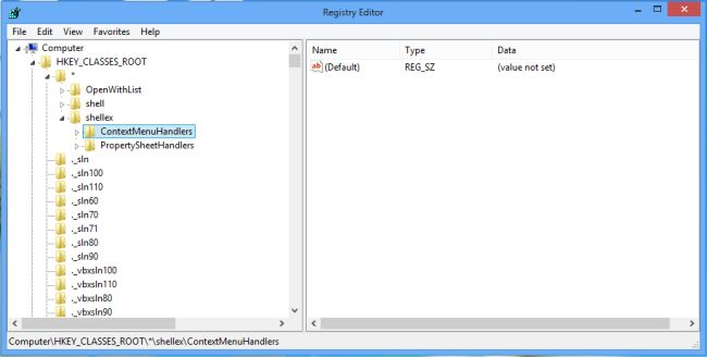 how to delete orphaned registry items