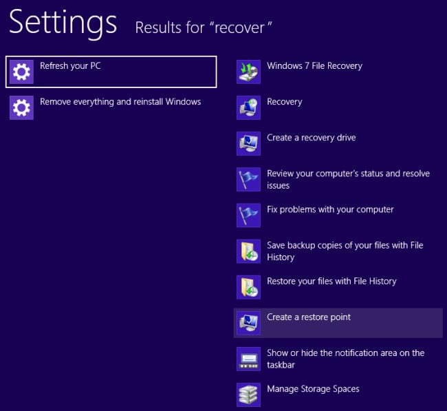 Как создать recovery windows 8 - Izhostel.ru