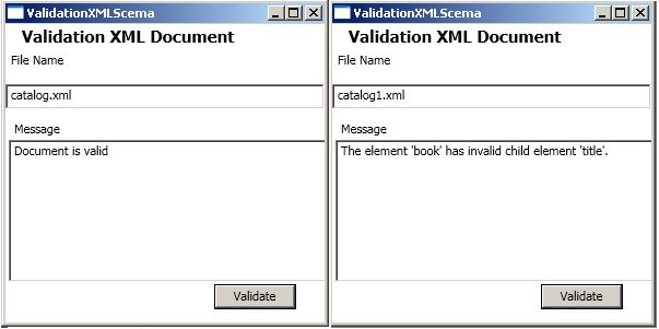 validating xml in c