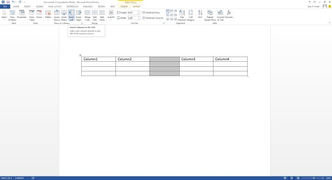 insert-left-column-option-in-word2013.jpg