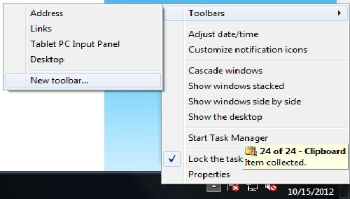 how to add something from taskbar to start menu