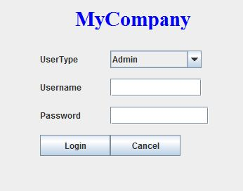 how to create login page in java