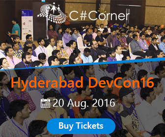 C# Corner Hyderabad Developer Conference