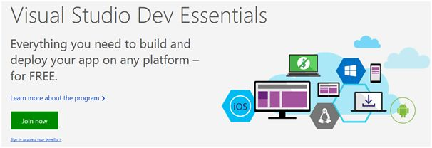 Visual Studio Dev Essentials