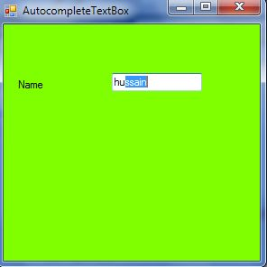 Automatic Value in TextBox