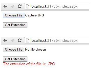 Get filename without extension in javascript