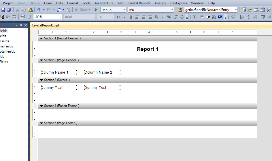 crystal report to pdf c