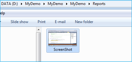 Capture Desktop Screenshot Using Windows Application