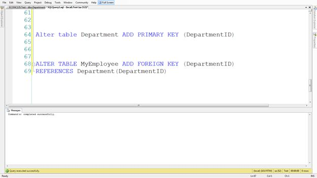 Problems with sql views when updating records - Alter table add foreign key ...