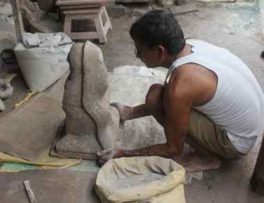 create first ganesh statue