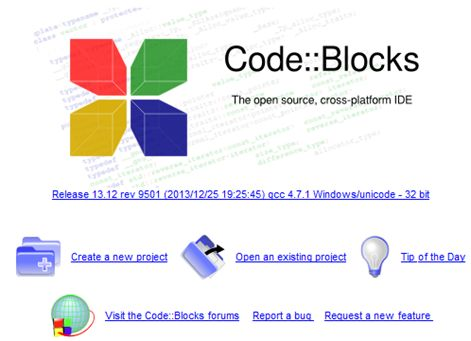 CODE BLOCK IDE First view