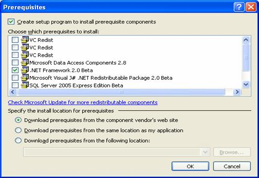 Application Development using ClickOnce in Visual Studio 2005