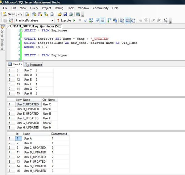 Sql update with case statement in set clause vs phrase for Sql update table