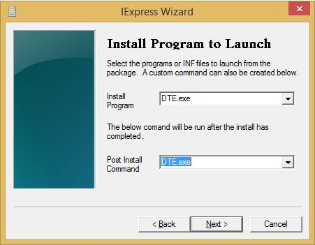 Install program to Launch