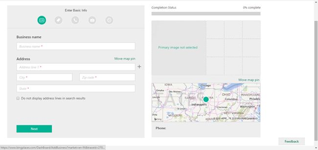 Create New Business