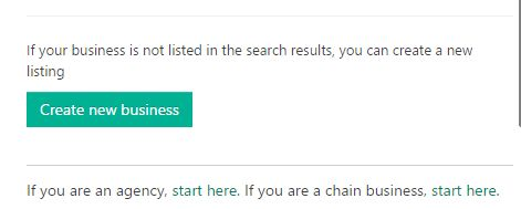 click on search button