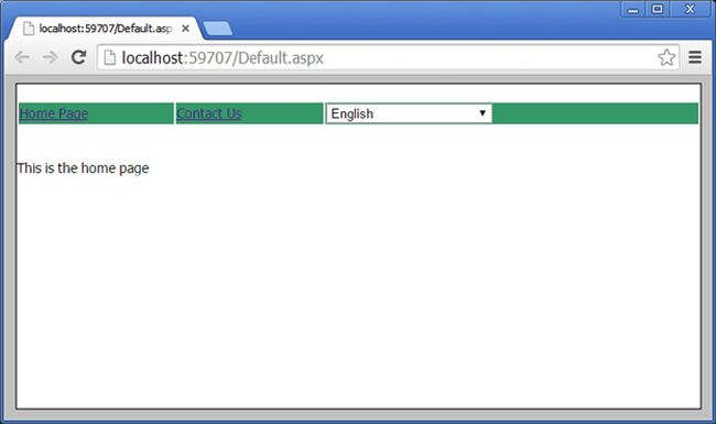 How To Create The Multilanguage Application In Asp Net