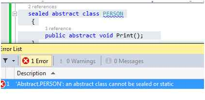 C# Abstract and Virtual Method – Inheritance Tutorial with Code