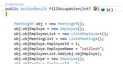 Get Value From Model Property In Mvc View