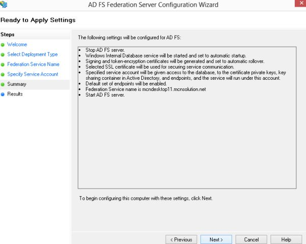 how to create a service account in windows server 2012