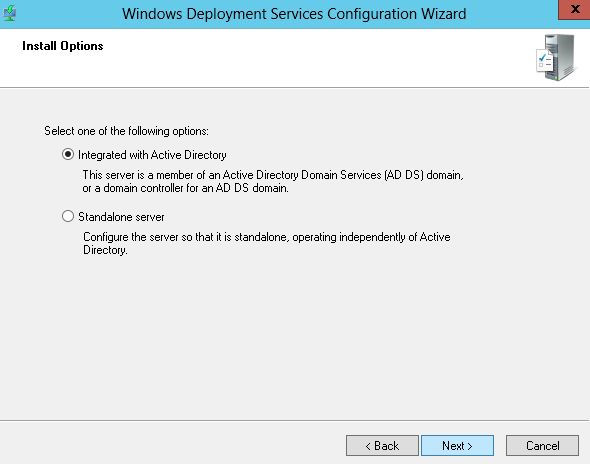 How to install the operating system without cd or through the network part 2 - Installer console active directory windows 7 ...