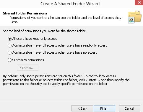 how to make a shared drive in windows 7