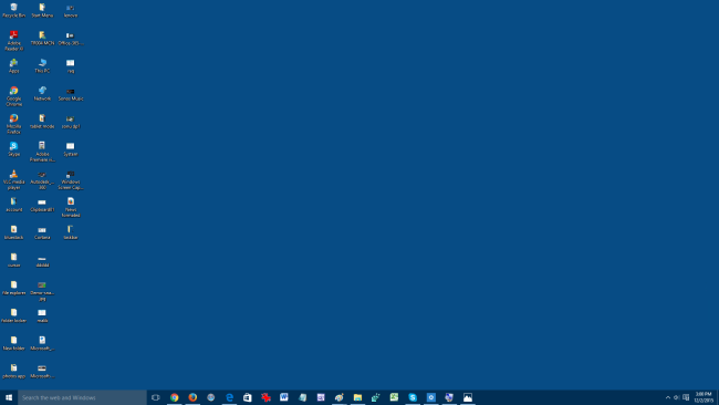 how to get normal start bar windows 10